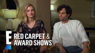"Penn Badgley, Elizabeth Lail & Shay Mitchell Talk New Series ""You""   E! Red Carpet & Award Shows"