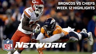 Repeat youtube video Chiefs vs. Broncos Highlights (Week 12) | Deion Sanders & LT | GameDay Prime | NFL Network