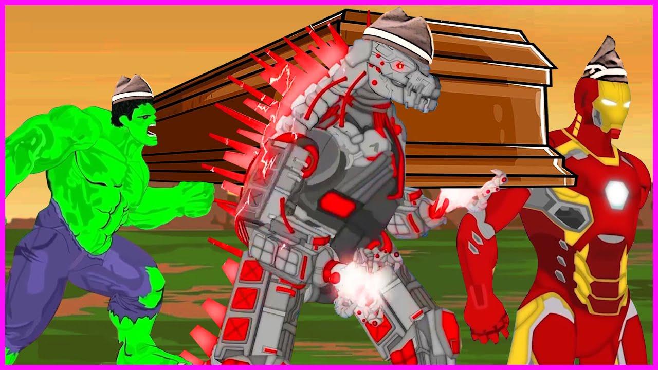 Godzilla & Mechagodzilla VS The Avenger - Meme Coffin Dance COVER Astronomia