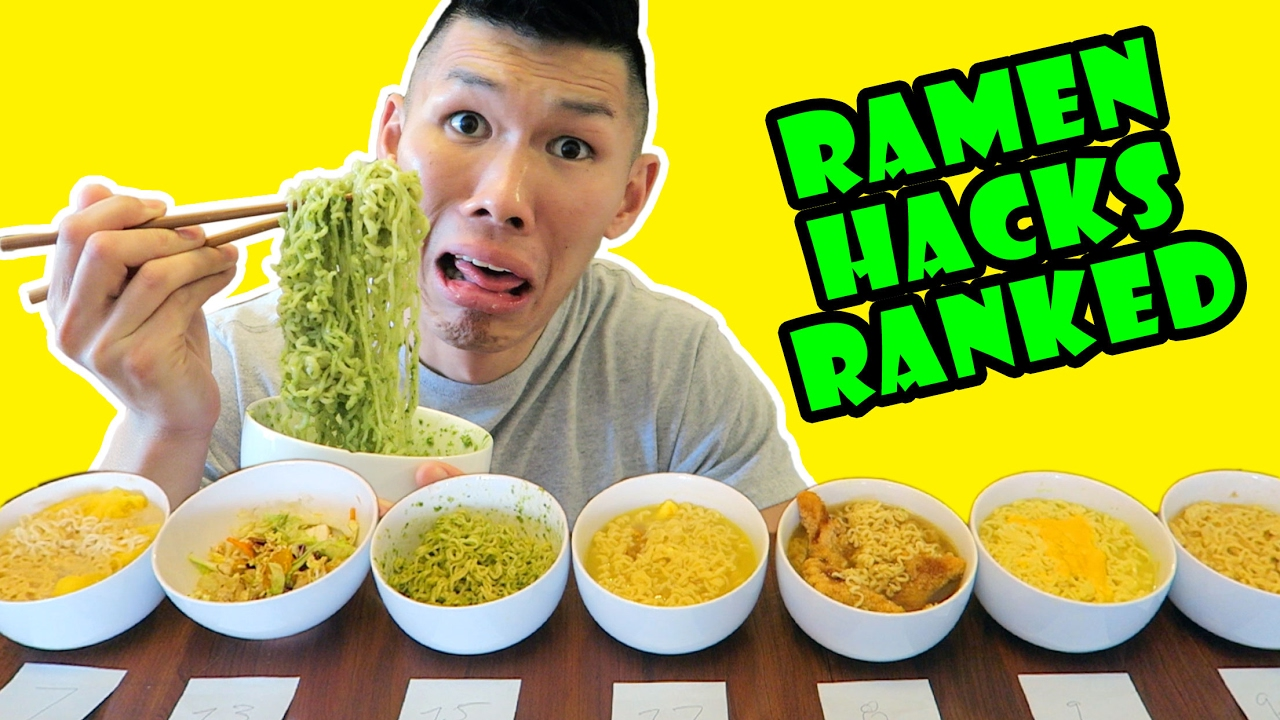 ramen-hacks-ranked-taste-test-delicious-gross-life-after-college-ep-532