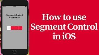 how to use segment control in ios (bangla)
