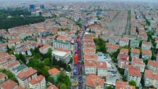 1 Mayıs'ta Bakırköy Havadan Görüntülendi