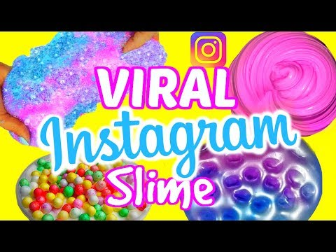 Thumbnail: VIRAL INSTAGRAM SLIME TESTED!