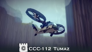 Besiege: CCC-112 Tumaz --- Valley of the Kings Flight