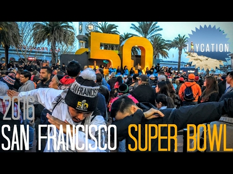 Super Bowl Vlog | ESPN The Party 2016 | San Francisco NFL Travel Guide