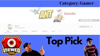 Recommended Channel: Ant | Roblox Gamer | Cringley Does it Again