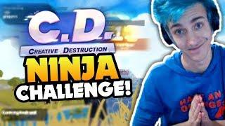 Creative Destruction - I AM NINJA CHALLENGE!