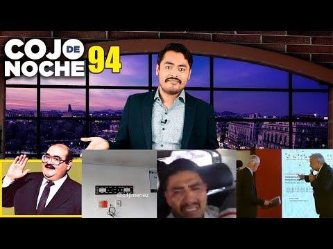 Jorge Ramos vs AMLO | Se roban carroza | Se roba pantalla de policías CdN 94