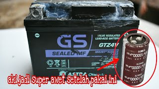 Download Video Aki jadi super awet setelah dipasang capacitors 10k uF 50 volt MP3 3GP MP4