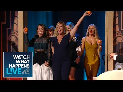 West Coast 'Wives Pack The LA Clubhouse  RHOBH  WWHL