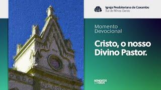 Momento Devocional: Cristo, o nosso Divino Pastor. (28/07/2020)