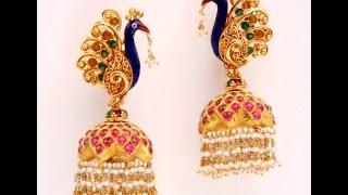 Latest Gold Ear Rings Models