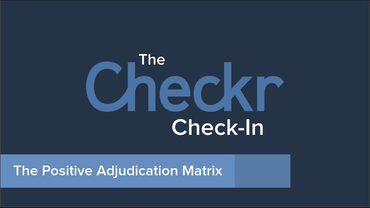 Positive Adjudication Matrix Reduce Bias And Increase Efficiency