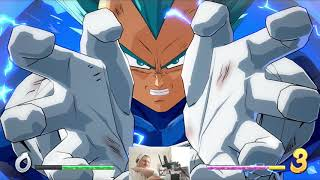 Halfway to Super Saiyan 3 with Vegeta Blue! [Dragon ball Fighterz]