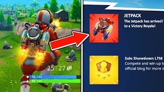 NEW! Jetpack Update in Fortnite! Jetpacks Are Coming SOON to Fortnite Battle Royale! #ad