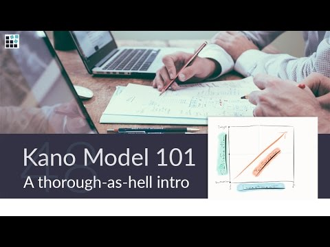 A Thorough-as-hell Intro to the Kano Model