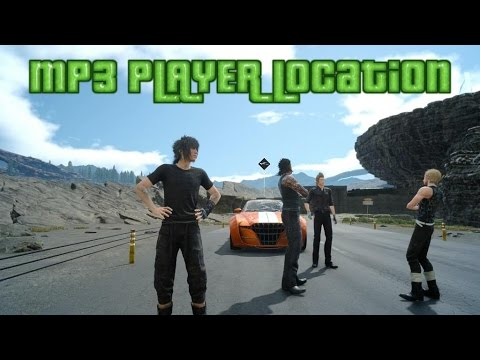 Final Fantasy 15 MP3 Player Location