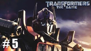 Transformers: The Game - Xbox 360 / Ps3 Gameplay Playthrough Autobot Campaign End PART 5