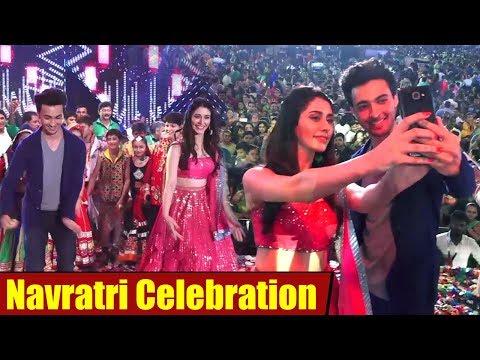 Aayush Sharma & Warina Hussain Celebrating Navratri   Salman Khan's Behnoi
