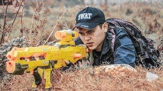 LTT Nerf War : Couple SEAL X Warriors Nerf Guns Fight Criminal Group Dr Lee Dangerous Mission