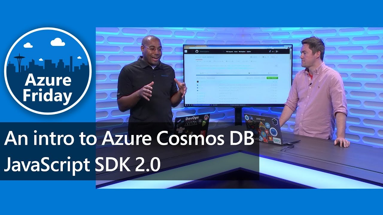 Video: Einführung in das Azure Cosmos DB JavaScript SDK 2.0
