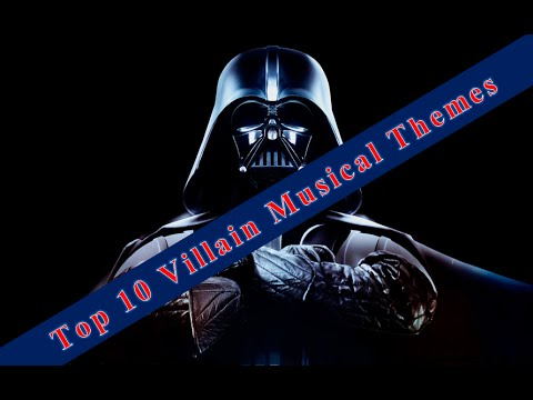 Top 10 Villain Musical Themes
