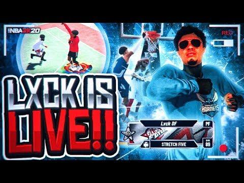 LXCK DF VS POWER DF BEST OF 5 SERIES NBA 2K20! GAME OF THE YEAR! BEST JUMPSHOT & BEST BUILD NBA 2K20