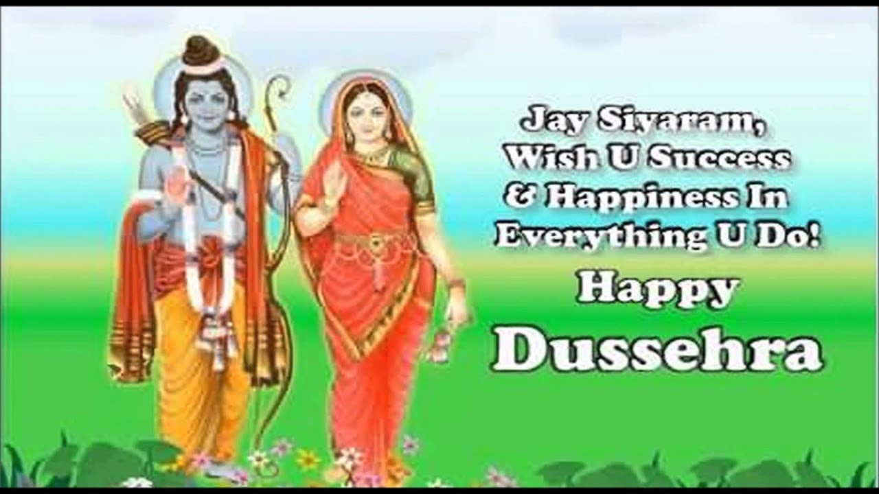 Happy dussehra 2016 wishes quotes hd images latest whatsapp video happy dussehra 2016 wishes quotes hd images latest whatsapp video greeting card youtube m4hsunfo