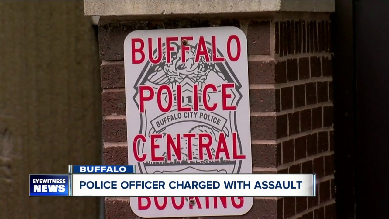 Two Buffalo police officers charged with assault over alleged ...