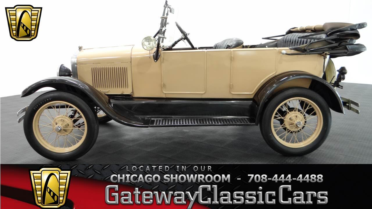 1926 Ford Model T Gateway Classic Cars Chicago #797 - YouTube