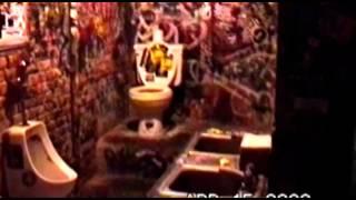 CBGB's famous toilet in New York City.mp4