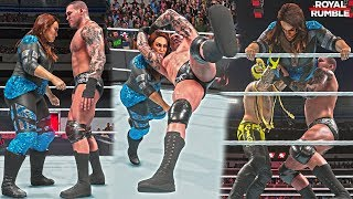 WWE 2K19 Royal Rumble 2019: Nia Jax Competes in the Men