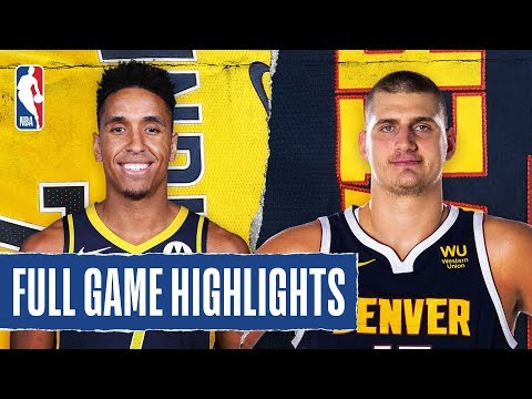 PACERS At NUGGETS | FULL GAME HIGHLIGHTS | January 19, 2020