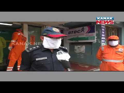 Banki NAC Area Sanitized To Prevent Spread Of COVID-19