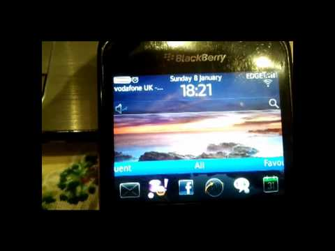 Blackberry 8520 Curve Running OS 6!!!!