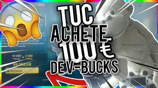 TUC BUY 100 of V-BUCKS ON FORTNITE !!!!