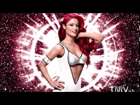 Eva Marie '' Out Of My Mind '' WWE Theme Song 2014