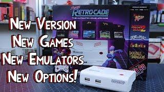 New Version Super Retro-Cade V1.1 From Retro-Bit! New Games, Emulators & Options!