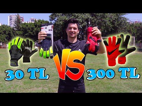 30TL VS 300TL KALECİ ELDİVENİ TEST!!