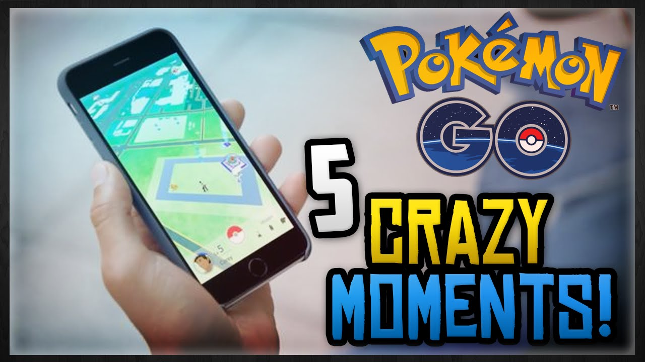 Download 5 CRAZY POKEMON GO MOMENTS YOU PROBABLY DIDN'T KNOW!