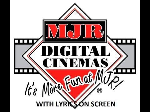 MJR Theatres Theme Song With Lyrics [HD]