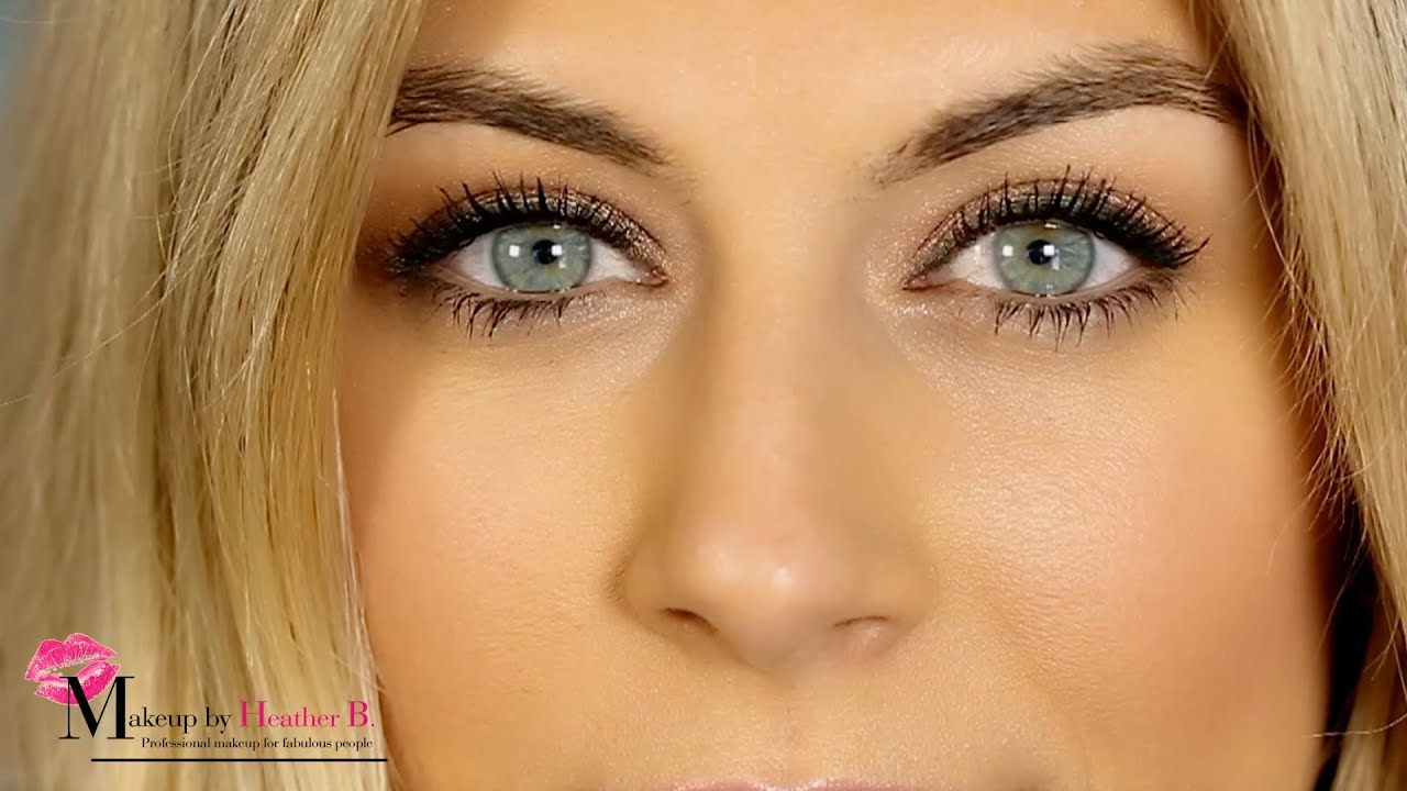 5 Minute Makeup How To Do Natural By Heather B You