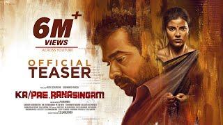 Ka Pae Ranasingam - Official Teaser | Vijay Sethupathi, Aishwarya  Rajesh | P  Virumandi | Ghibran