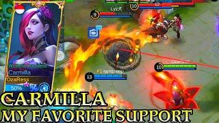 Carmilla Support Try In Original Server - Mobile Legends Bang Bang