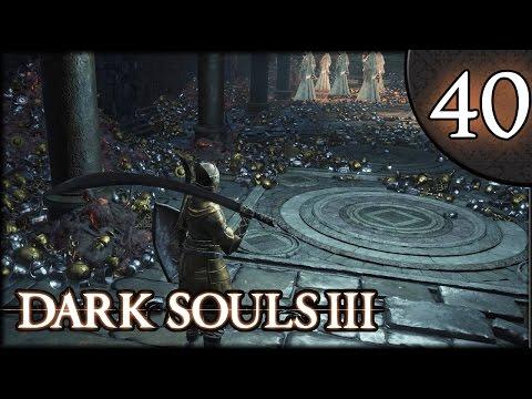 Let's Play Dark Souls 3 Gameplay Walkthrough (Herald) - Part 40: Statue Gold Rat Boss