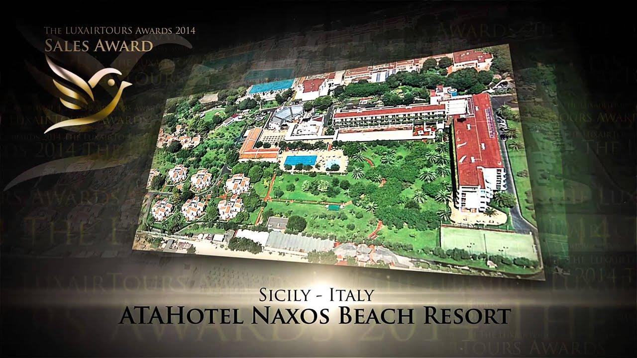 Découvrez L Hôtel Naxos Beach Resort En Sicile
