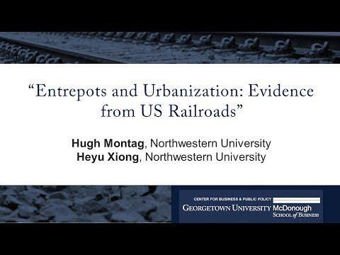 "Heyu Xiong presents ""Entrepots and Urbanization: Evidence from U.S. Railroads"""