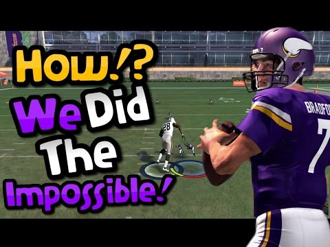 EVERYONE THOUGHT THAT THIS WAS IMPOSSIBLE!! Crazy Madden 17 Gauntlet Gameplay