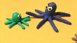 Sammy Squid: Turns The Other Tentacle Claymation