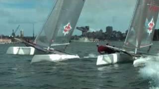 2B Sailing - C2 Formula 18 & Viper F16 on Sydney Harbour